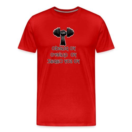 Para el Espejo: GYM - YO PUEDO - Camiseta premium hombre