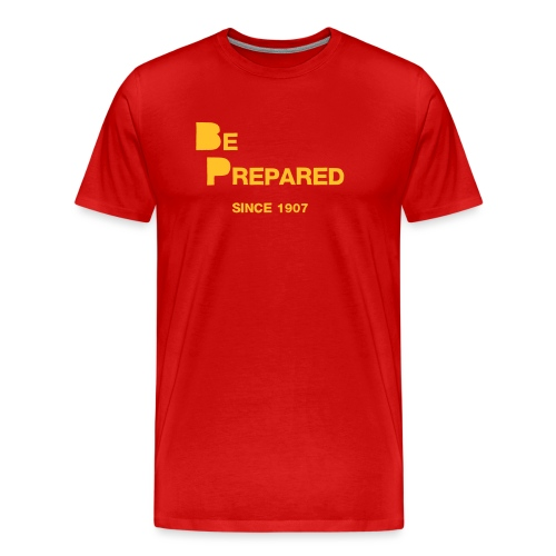 Be Prepared - Männer Premium T-Shirt