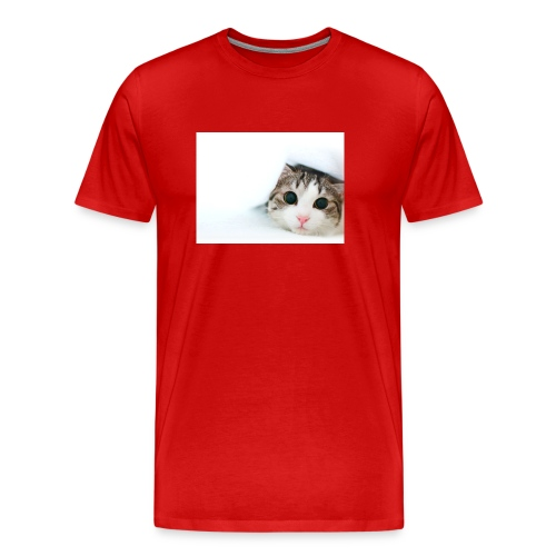 cat - Premium-T-shirt herr