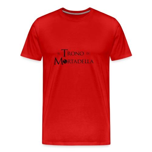 T-shirt donna Il Trono di Mortadella - Maglietta Premium da uomo