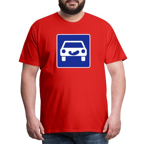 Kraftfahrtstrasse anfang - Männer Premium T-Shirt