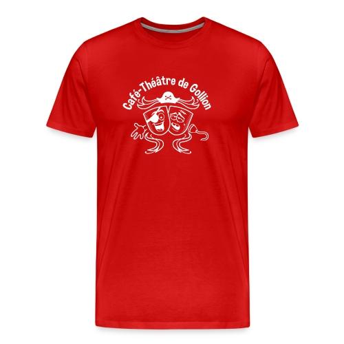 logo pirate inv - T-shirt Premium Homme