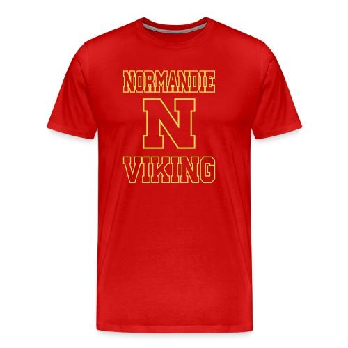 Normandie Viking Def jaune - T-shirt Premium Homme