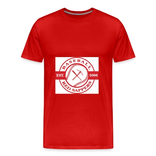 logo weiss - Men's Premium T-Shirt