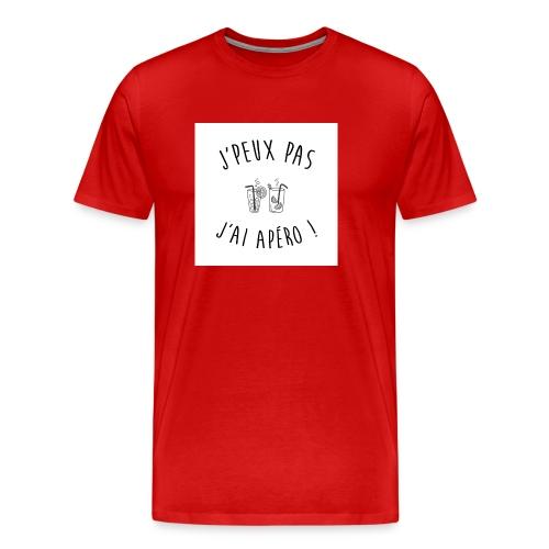 Jpeux pas apero - T-shirt Premium Homme