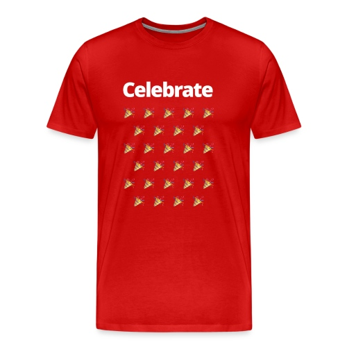 5 NETZ Celebrate - Men's Premium T-Shirt