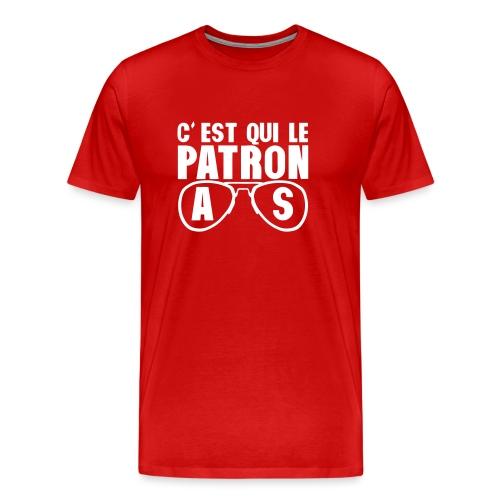 c est qui le patron lunette as poker - T-shirt Premium Homme