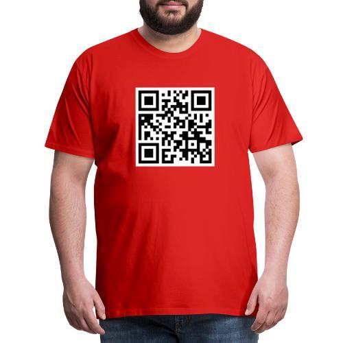 Zu dir oder zu mir? - Männer Premium T-Shirt