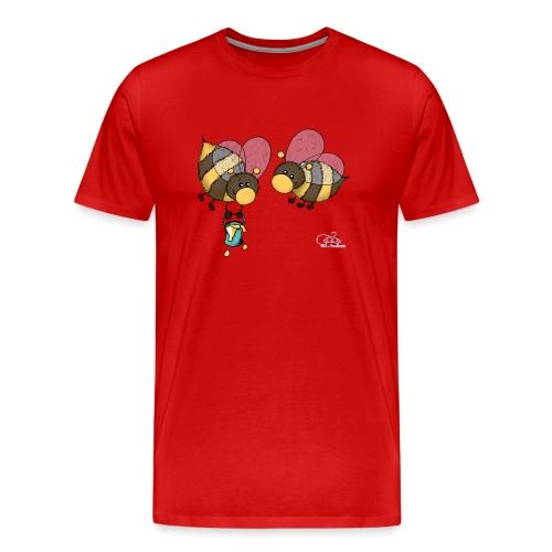 Hummelchen und Pummelchen - Männer Premium T-Shirt