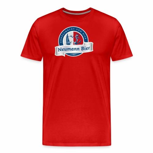 Neumann Bier - Hobbybrauer Leipzig - Männer Premium T-Shirt