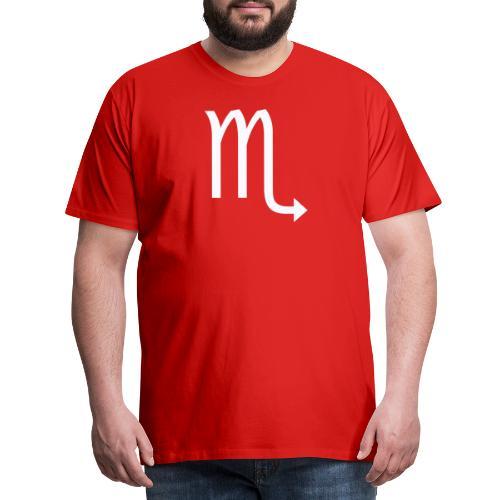 Skorpion - Premium-T-shirt herr