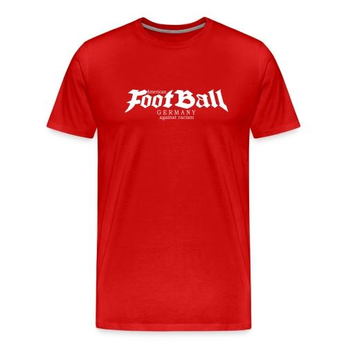 football germany against racism 1 - Männer Premium T-Shirt
