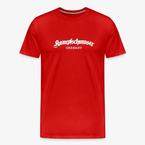 Kampfschmuser Germany - Männer Premium T-Shirt
