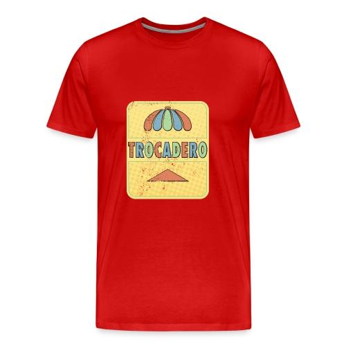The king of golden soda - Premium-T-shirt herr