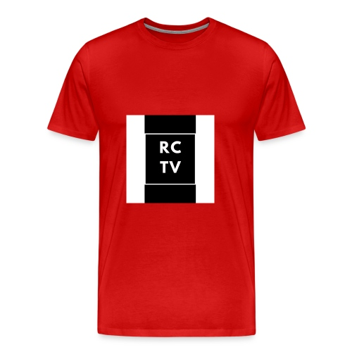RCTV Logo - Premium-T-shirt herr