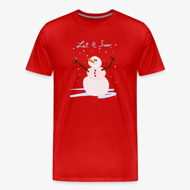 snowman let it snow