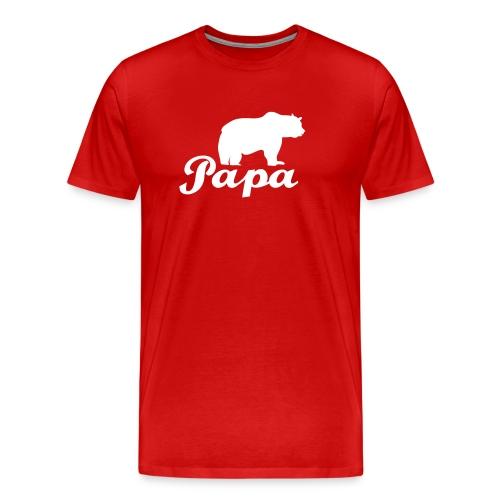 papa beer - Mannen Premium T-shirt