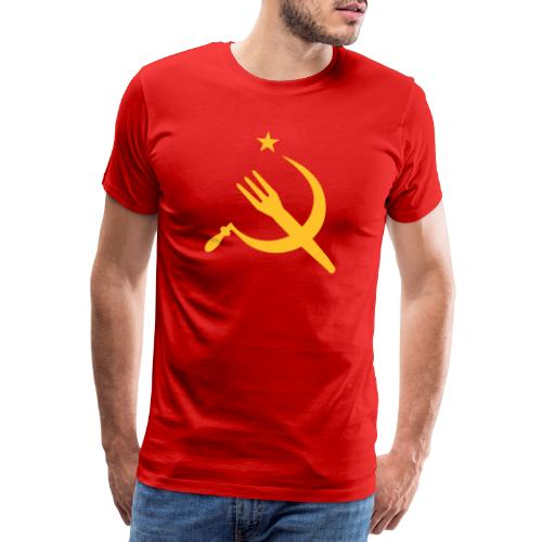 Fourchette en sikkel - USSR - belgië - belgique - T-shirt Premium Homme