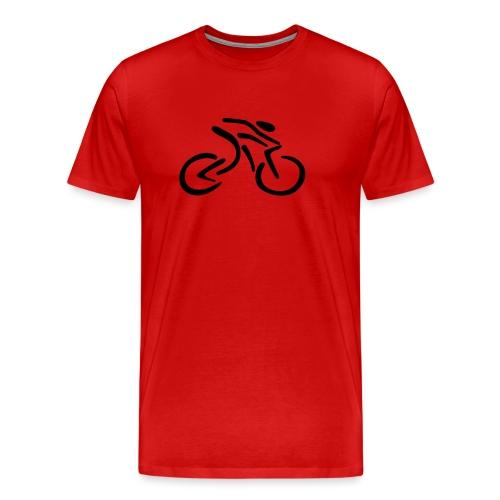 fietsen - Mannen Premium T-shirt