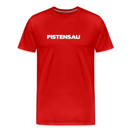 Ski Shirt Pistensau - Männer Premium T-Shirt