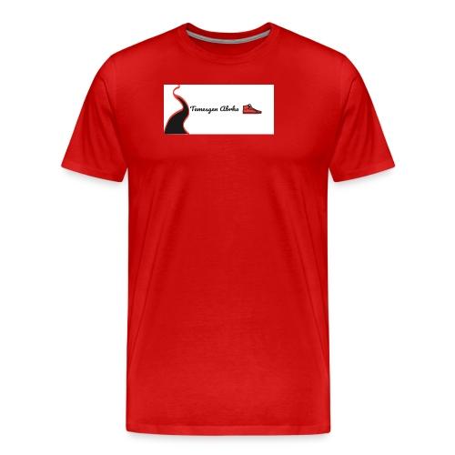 BOGO WHITE EDITION - Premium T-skjorte for menn