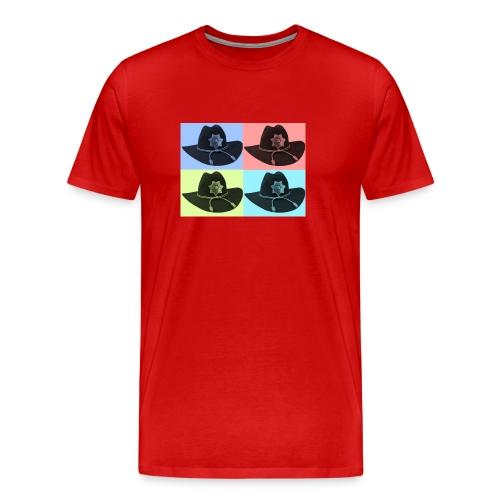 cuatro rick - Camiseta premium hombre