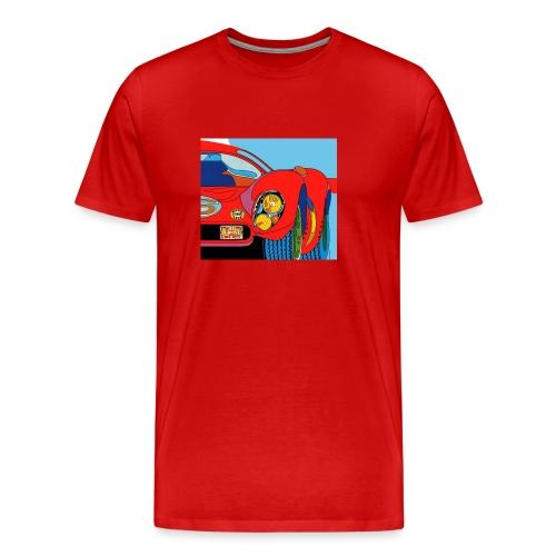 1968 Projecteurs Cibie iode crop jpg - Herre premium T-shirt