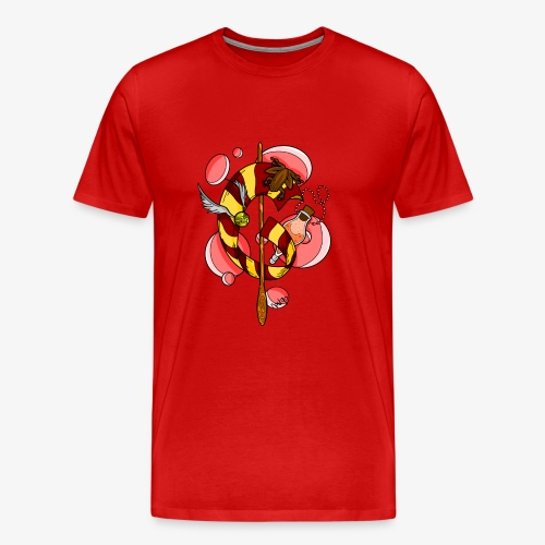 Model Courageux par Nastyo - T-shirt Premium Homme