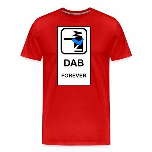 DAB POLICE - Maglietta Premium da uomo