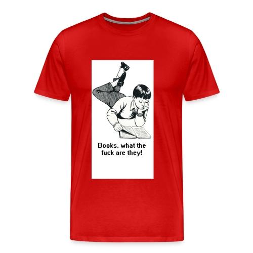 bookspoketshirt david stokes - Men's Premium T-Shirt
