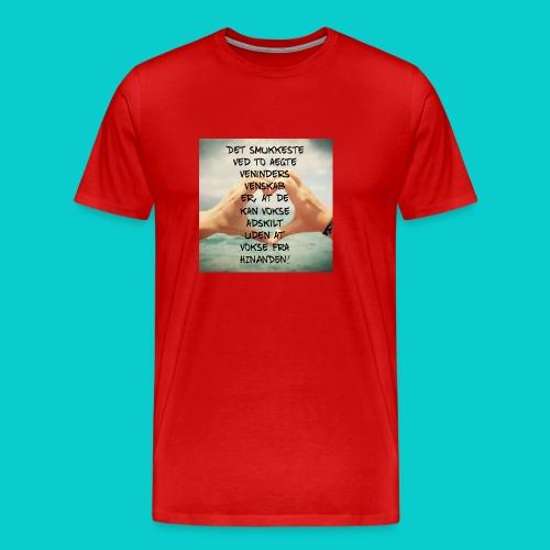 Bedste veninder - Herre premium T-shirt