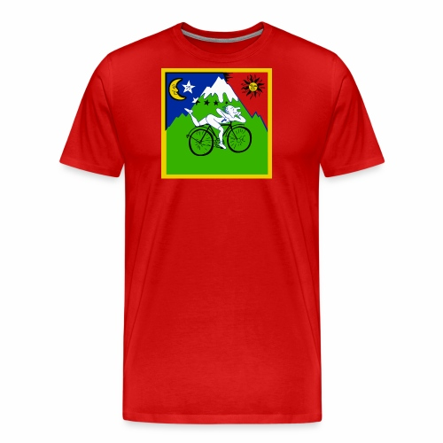 Bicycle Day Red Shirt - Men's Premium T-Shirt
