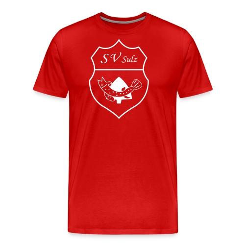 SV Sulz am Eck Wappen 1C - Männer Premium T-Shirt