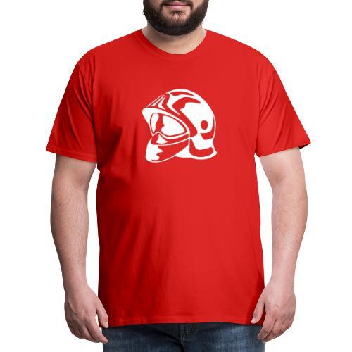 casque_pompier - T-shirt Premium Homme