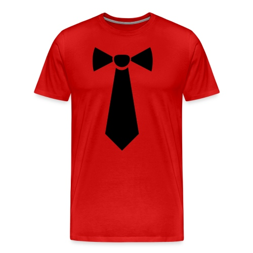 Vlinderstropdas - Mannen Premium T-shirt