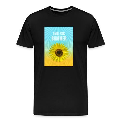 sunflower endless summer Sonnenblume Sommer - Men's Premium T-Shirt