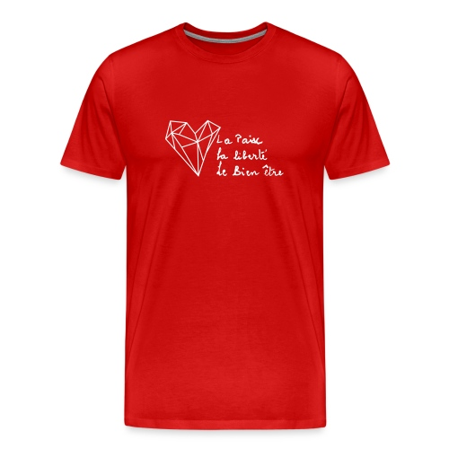 Heart of Grace - Herre premium T-shirt