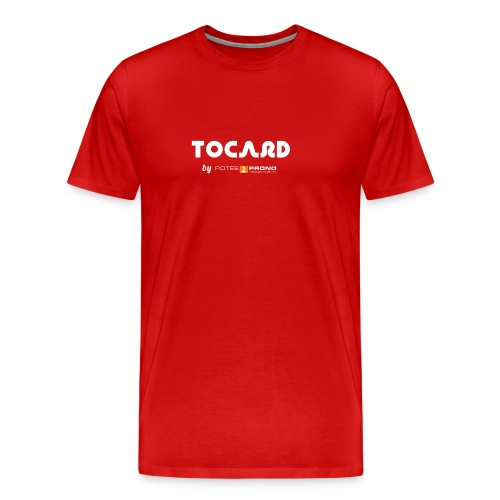TshirtTocard03 png - T-shirt Premium Homme