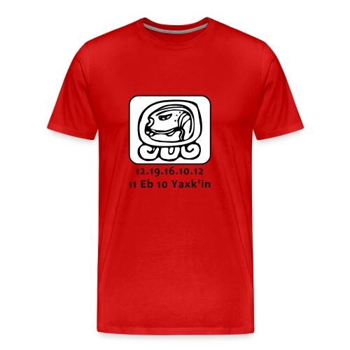Maya kalender 5123 jaar - Mannen Premium T-shirt