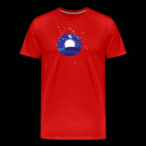 Der Mond hat n Vogel - Männer Premium T-Shirt