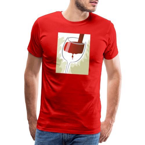 Glas Halfvol - Mannen Premium T-shirt