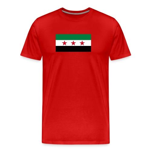 Syria Flag (pre-1963) - Men's Premium T-Shirt