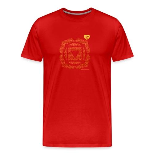 Base Chakra vasishtha - Men's Premium T-Shirt