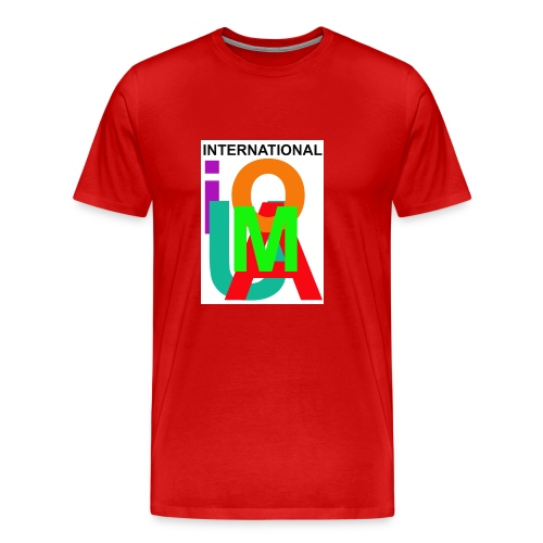 IUOMA International - Mannen Premium T-shirt