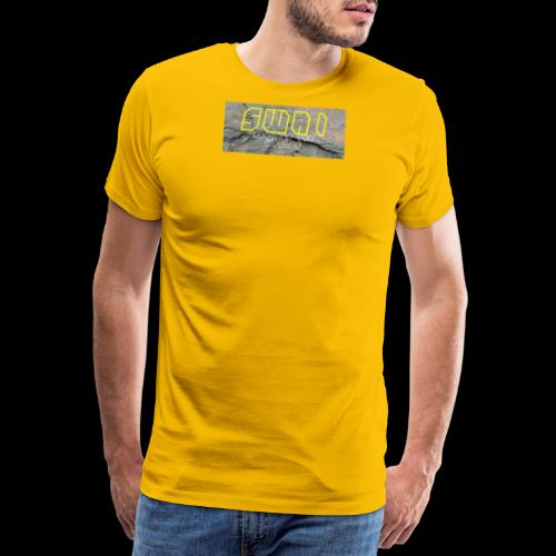 swai stoned yellow - Männer Premium T-Shirt