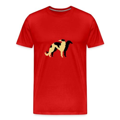 Barzoï Duo - T-shirt Premium Homme