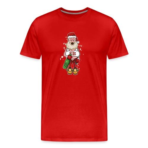 Bad Santa / Weihnachtsmann - Männer Premium T-Shirt