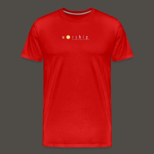 Vorlage V5217 THE POWER OF PAPA JESUS LOVE 300 - Männer Premium T-Shirt
