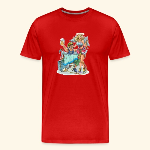 Rock Climbing Heaven - Men's Premium T-Shirt