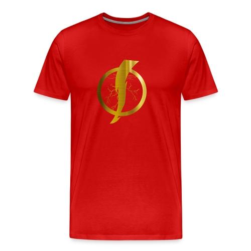 Static Shock Logo - Men's Premium T-Shirt